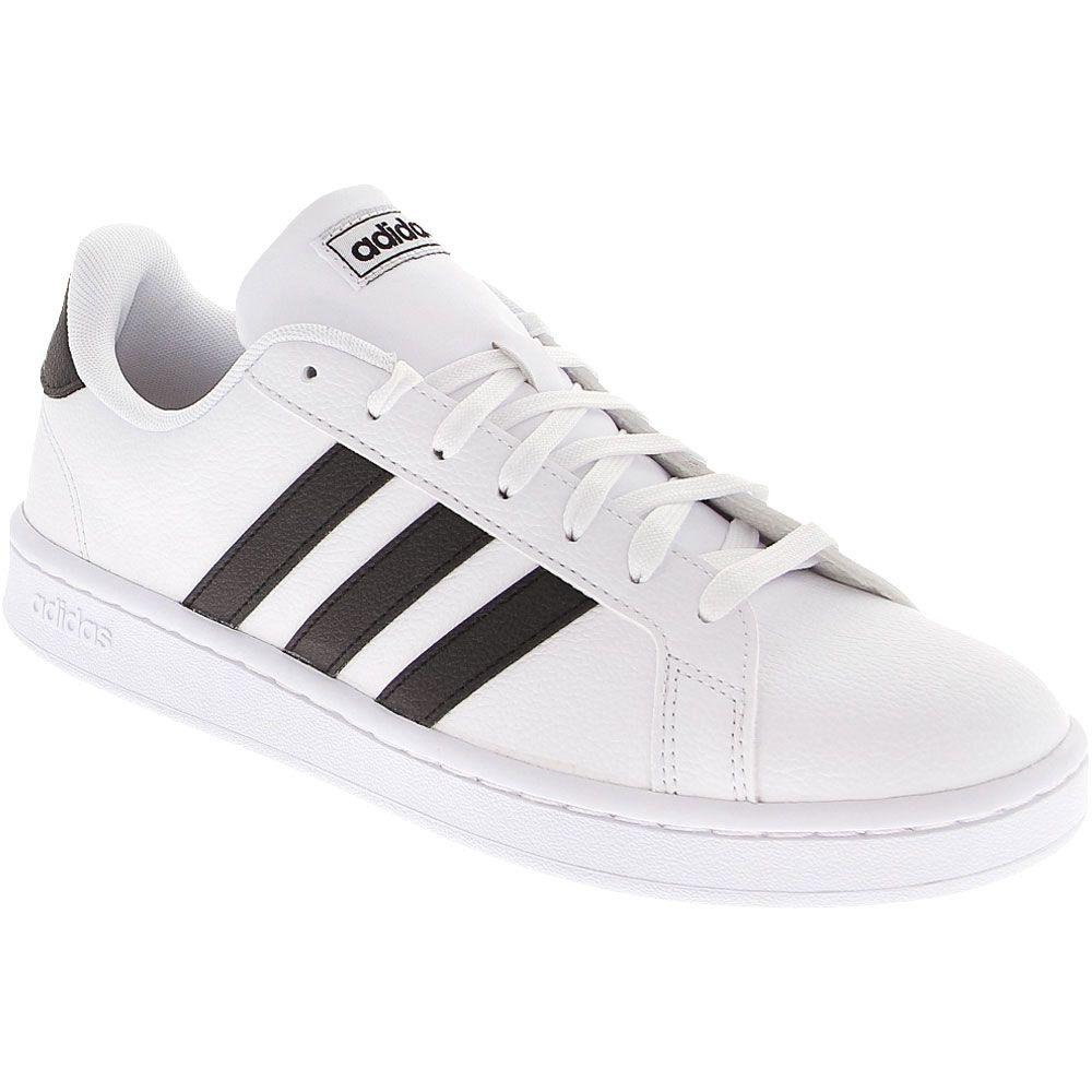 Adidas Grand Court Lifestyle Shoes - Womens White Black