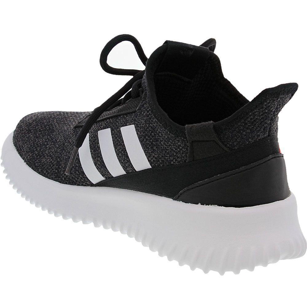 Adidas Kaptir 2 Running - Boys Black White Red Back View