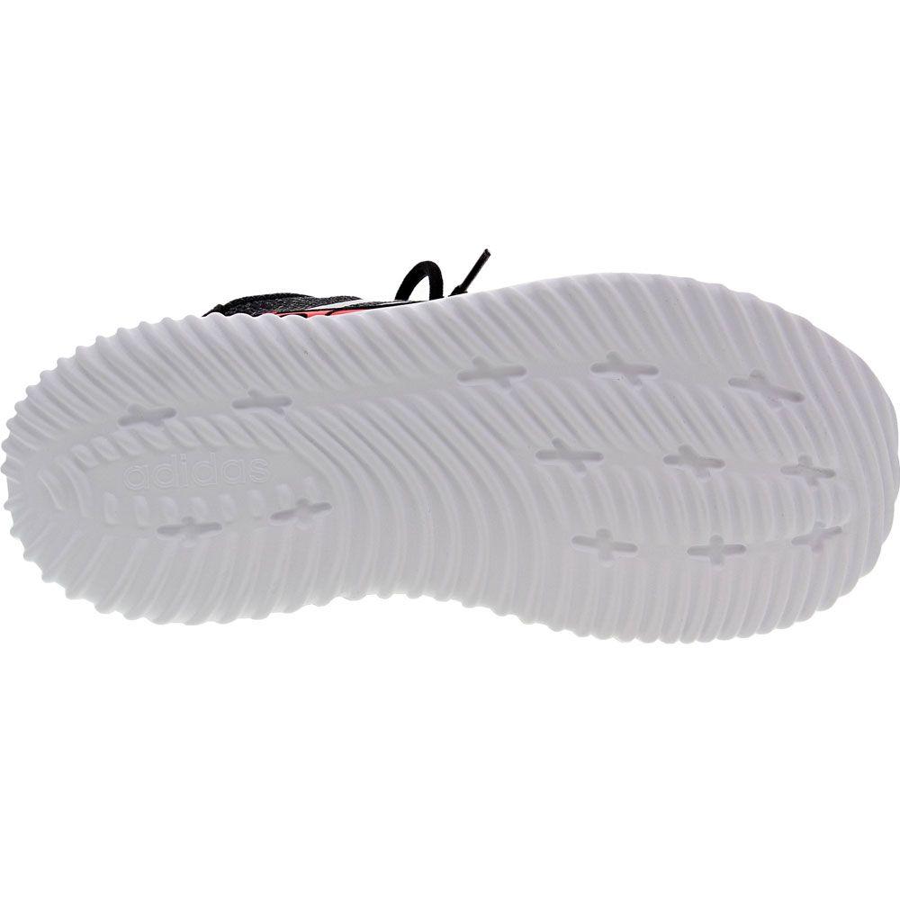 Adidas Kaptir 2 Running - Boys Black White Red Sole View