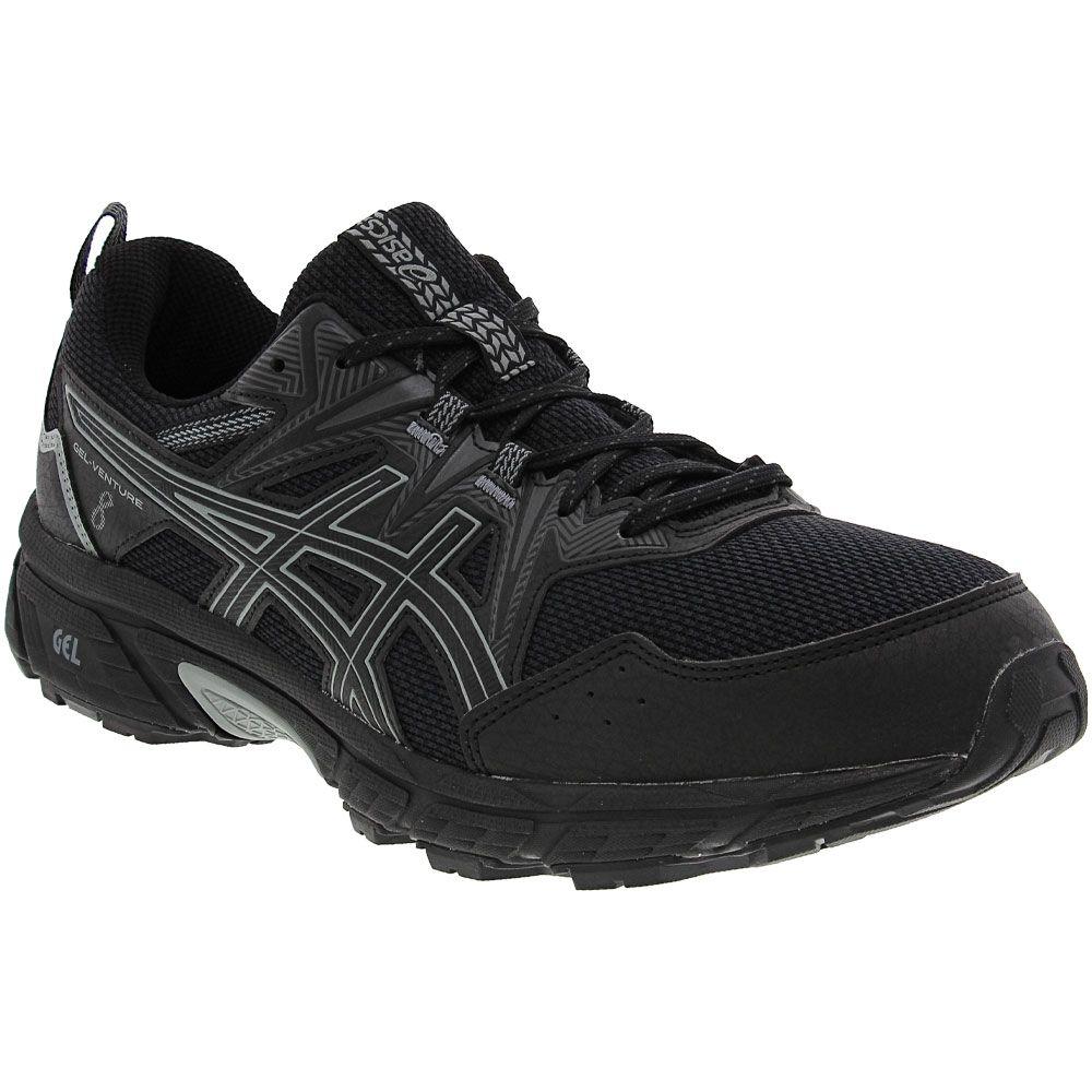 ASICS Gel Venture 8 Trail Running Shoes - Mens Black