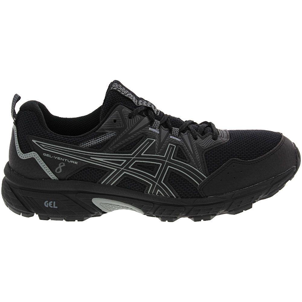 'ASICS Gel Venture 8 Trail Running Shoes - Mens Black