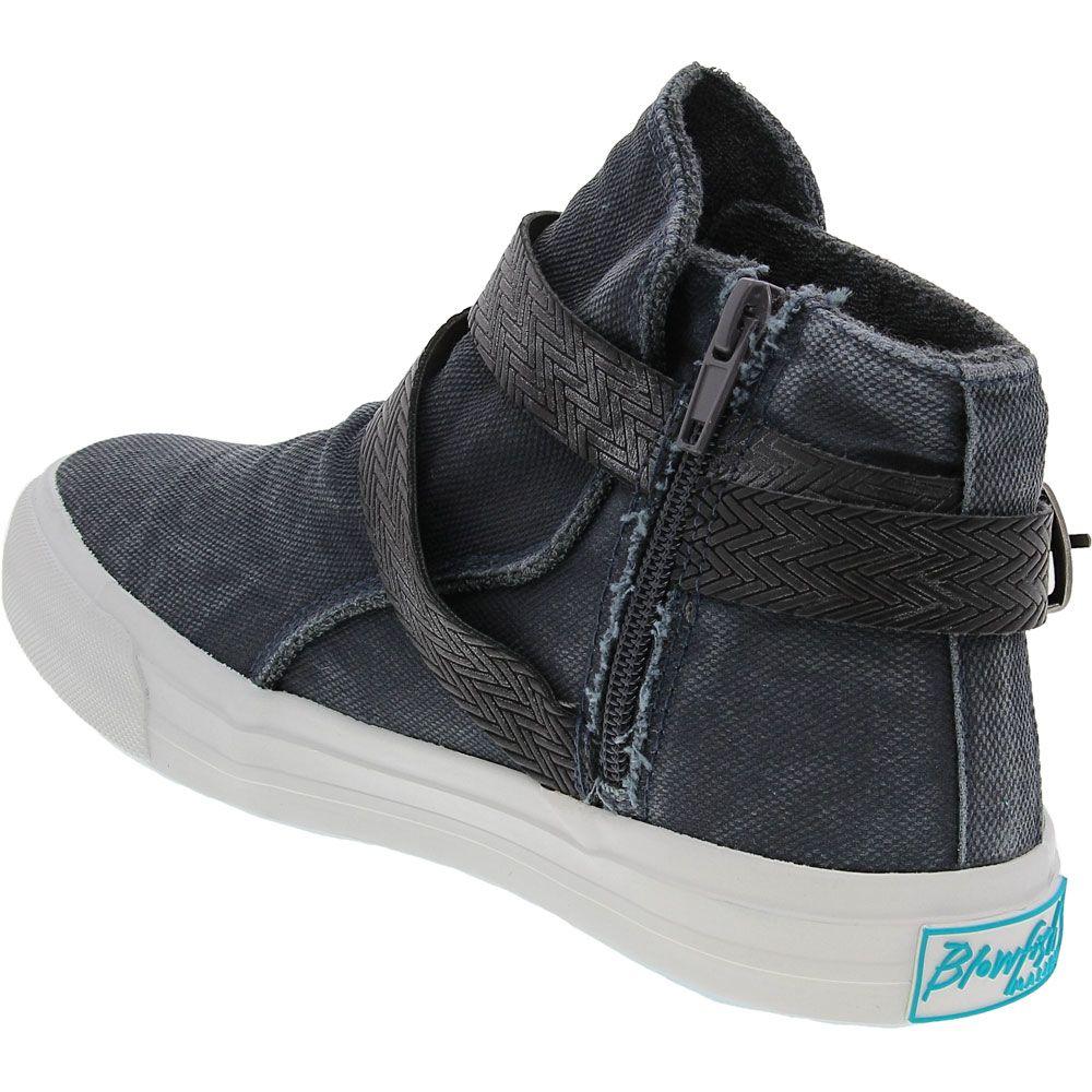 Blowfish Machiko Lifestyle Shoes - Womens Desert Iron Smoked Back View