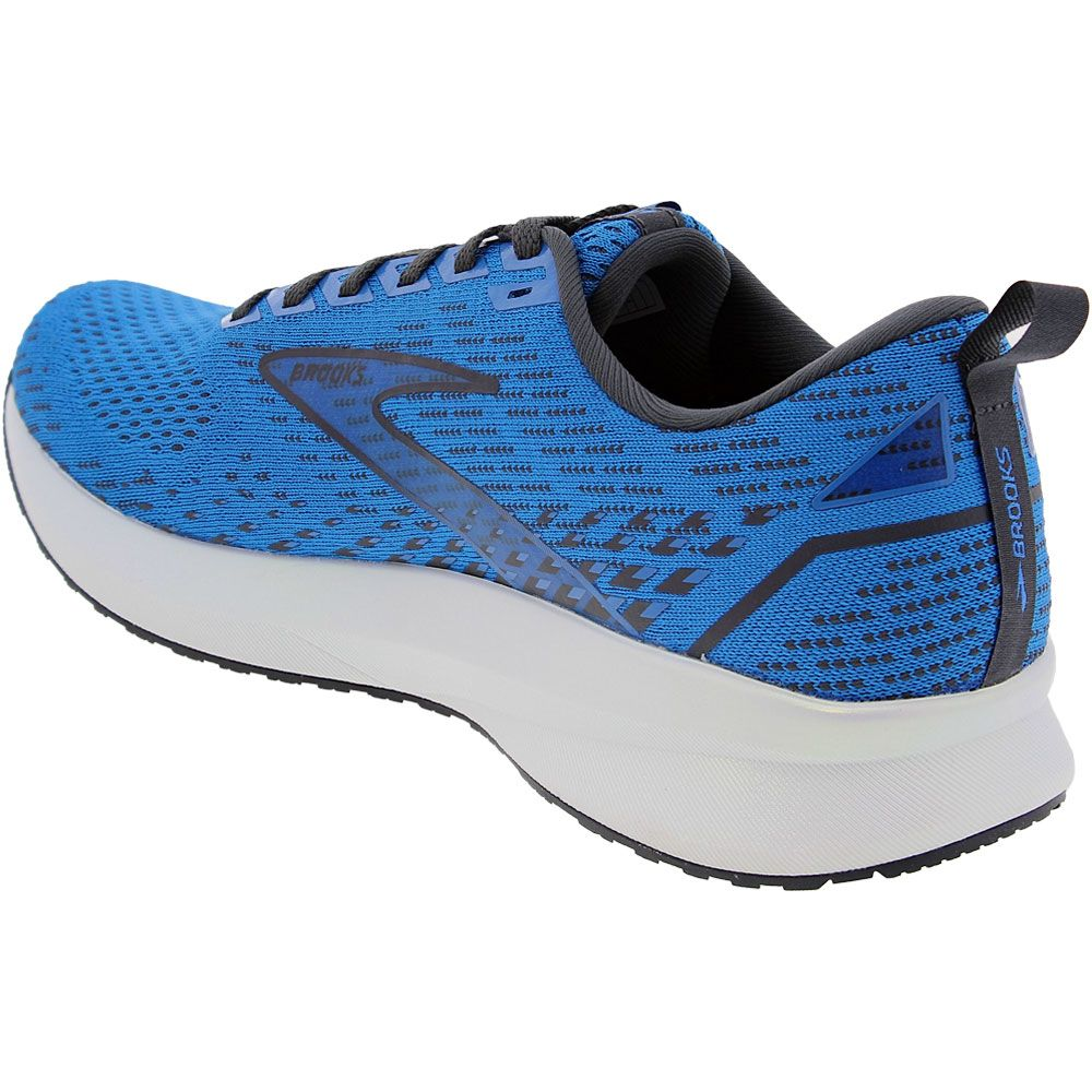 Brooks Levitate 5 Running Shoes - Mens Blue Back View