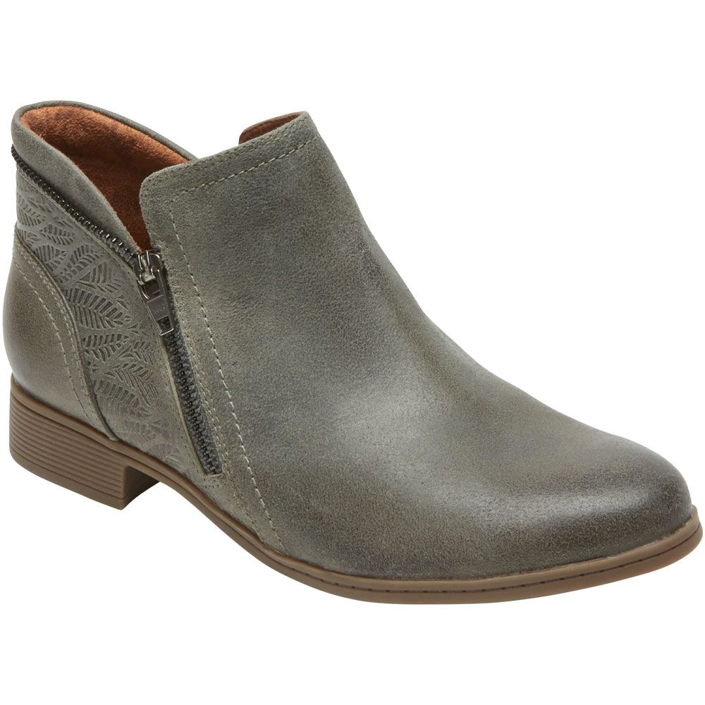 Cobb Hill Crosbie Bootie Ankle Boots - Womens Grey