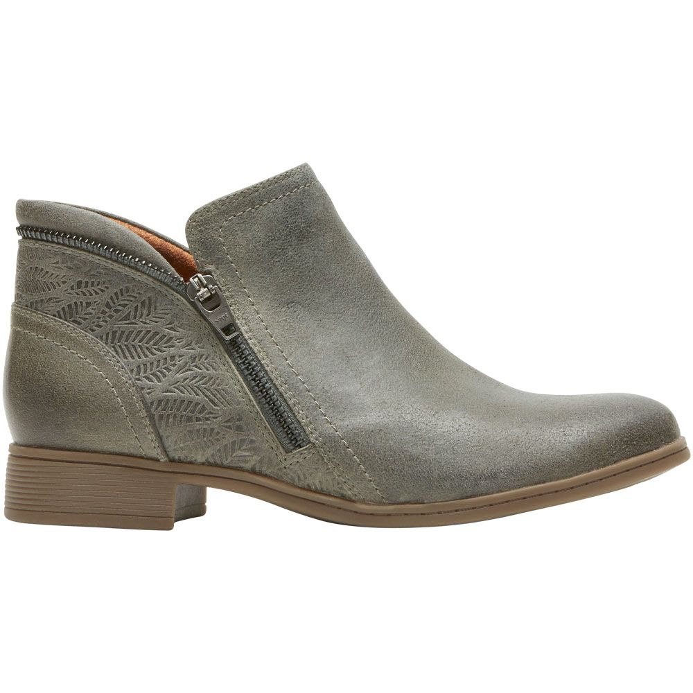 'Cobb Hill Crosbie Bootie Ankle Boots - Womens Olive