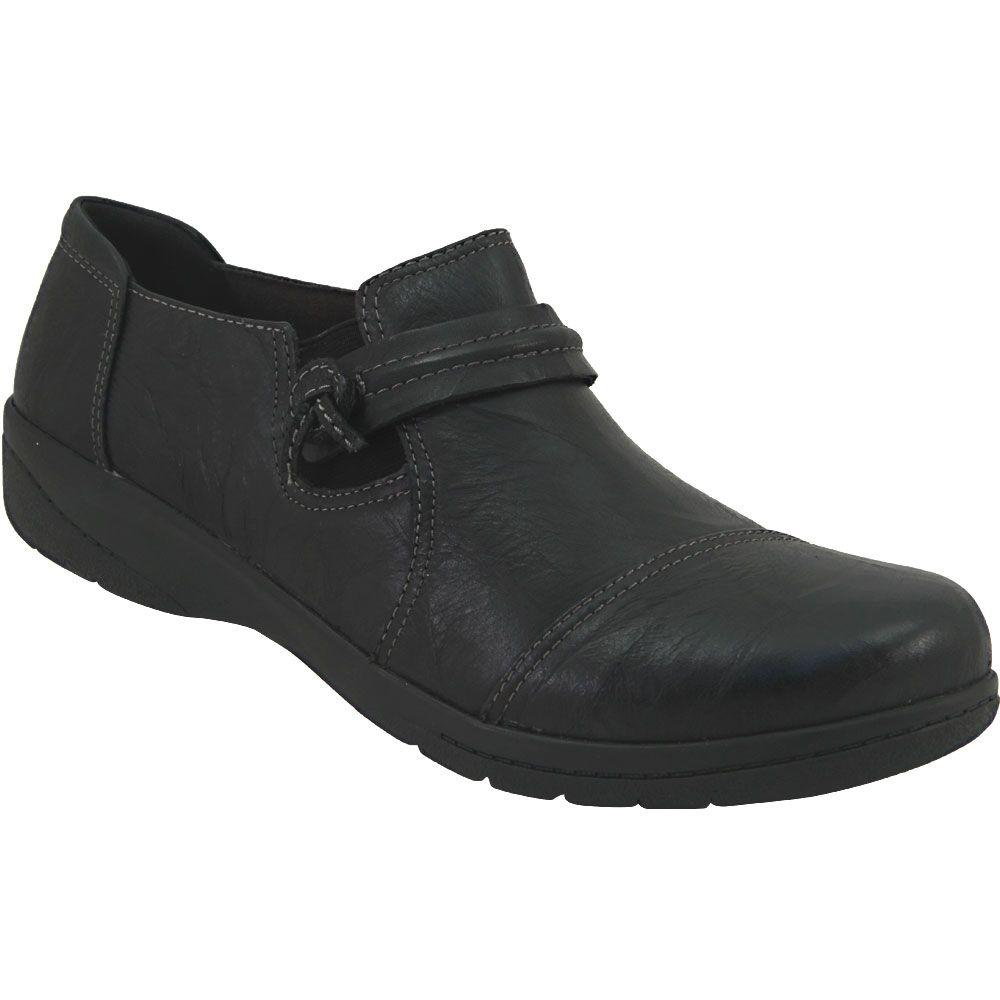Clarks Cheyn Madi Ortholite SlipOn Casual Shoes - Womens Black