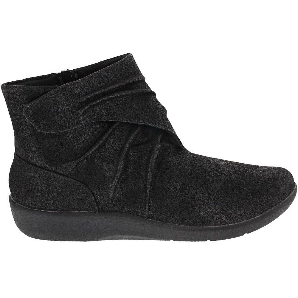 'Clarks Sillian Tana Ankle Boots - Womens Black