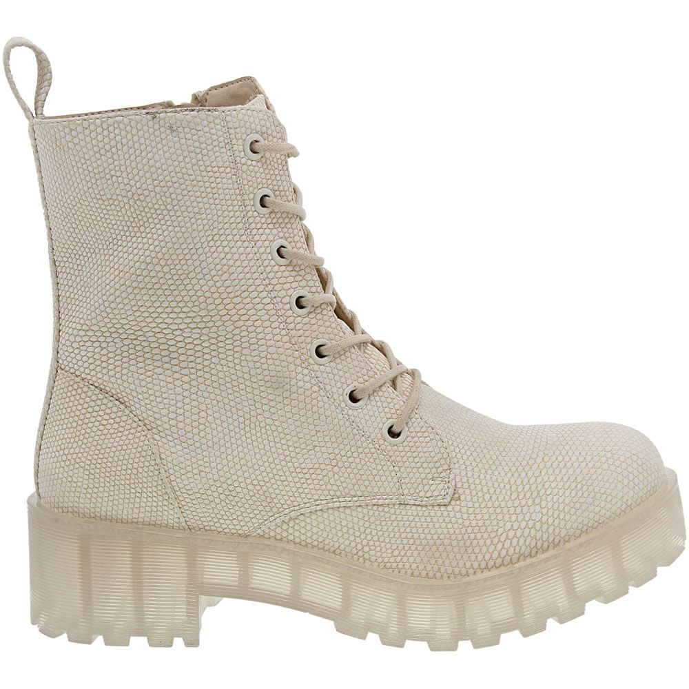 'Dirty Laundry Mazzy Clear Casual Boots - Womens Natural