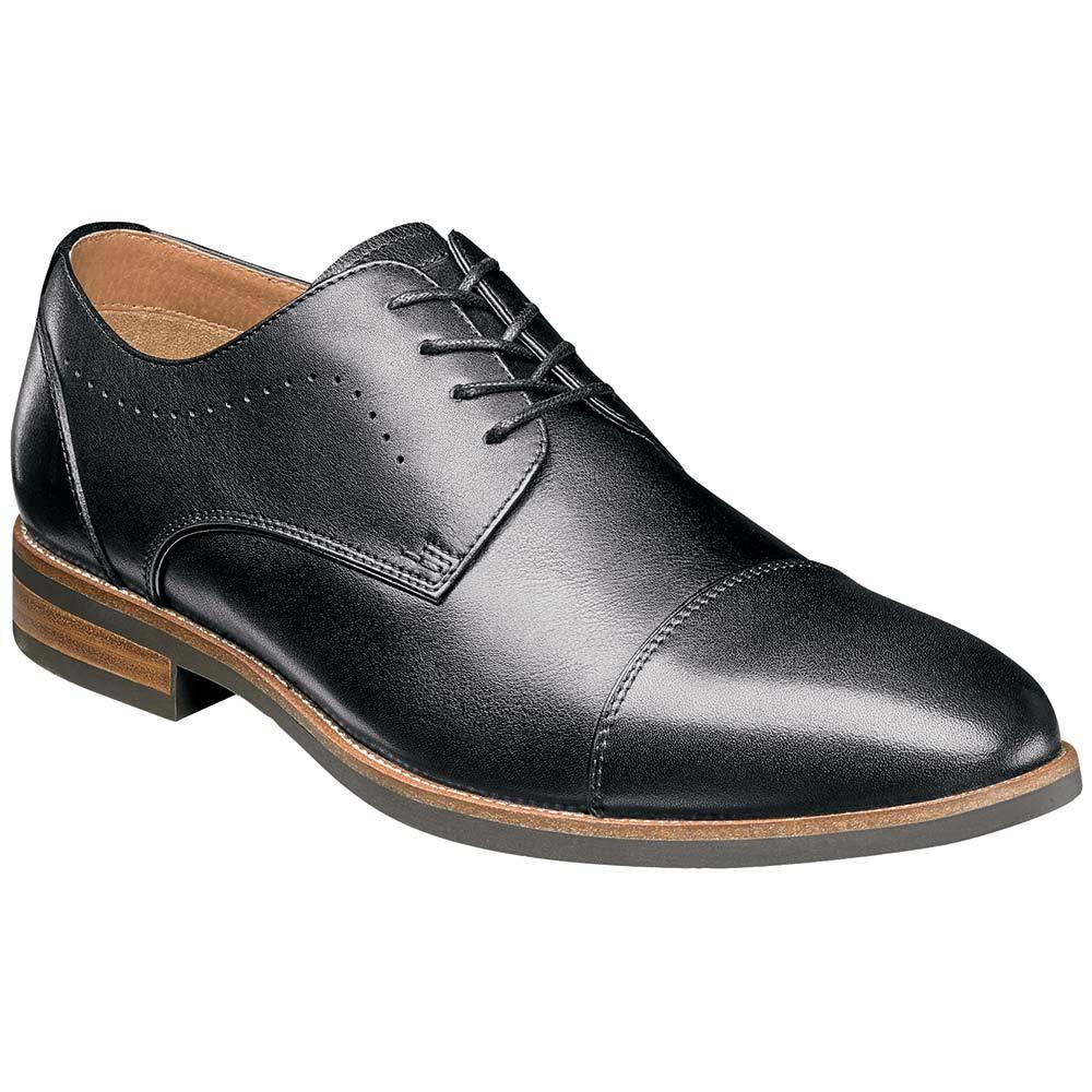 Florsheim Uptown Cap Toe Ox Oxford Dress Shoes - Mens Black