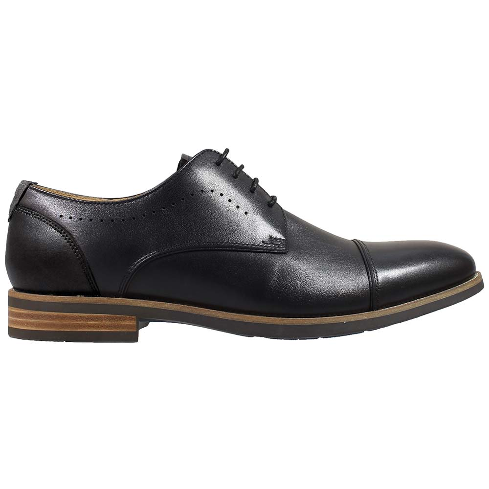 'Florsheim Uptown Cap Toe Ox Oxford Dress Shoes - Mens Black