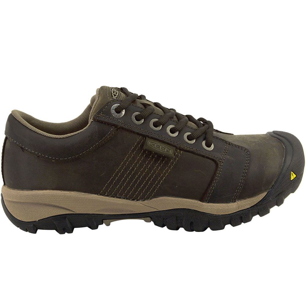 'KEEN Utility La Conner Low Safety Toe Work Shoes - Mens Cascade Brown