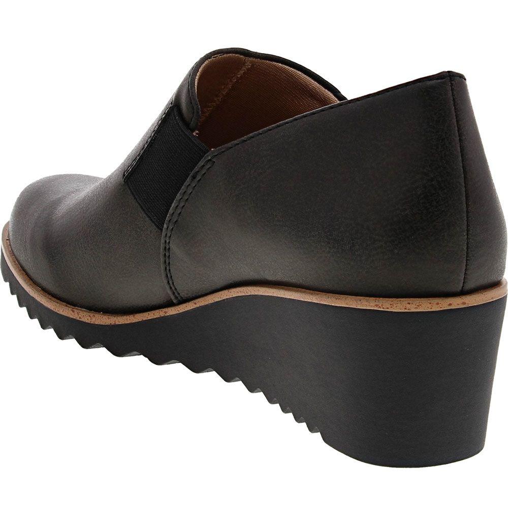 Life Stride Zora Casual Dress Shoes - Womens Black Back View