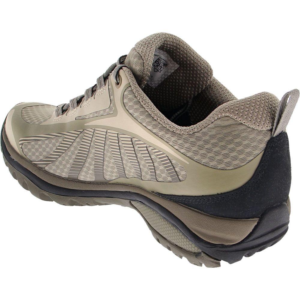 Merrell Siren Edge 3 Hiking Shoes - Womens Tan Back View
