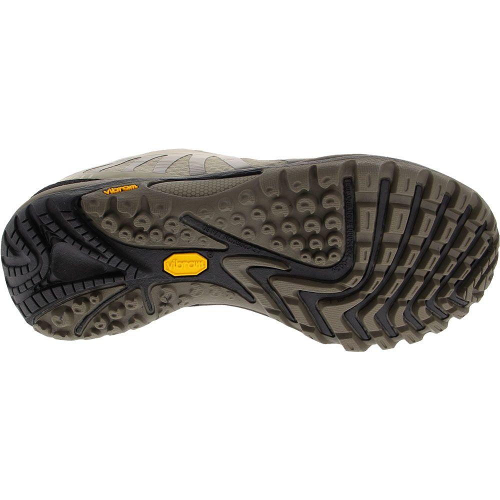 Merrell Siren Edge 3 Hiking Shoes - Womens Tan Sole View