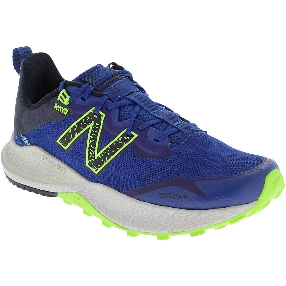 New Balance Fuelcore Nitrel Running Shoes - Boys Royal Yellow