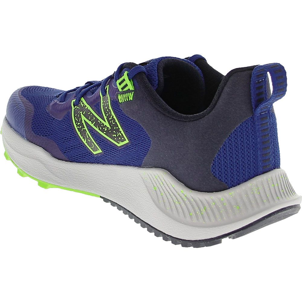 New Balance Fuelcore Nitrel Running Shoes - Boys Royal Yellow Back View