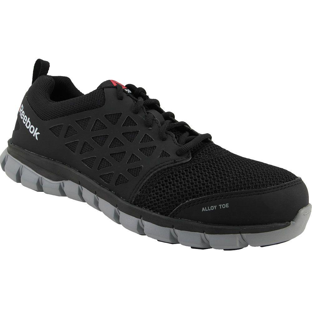 Reebok Work Sublite Eh Safety Toe Work Shoes - Mens Black