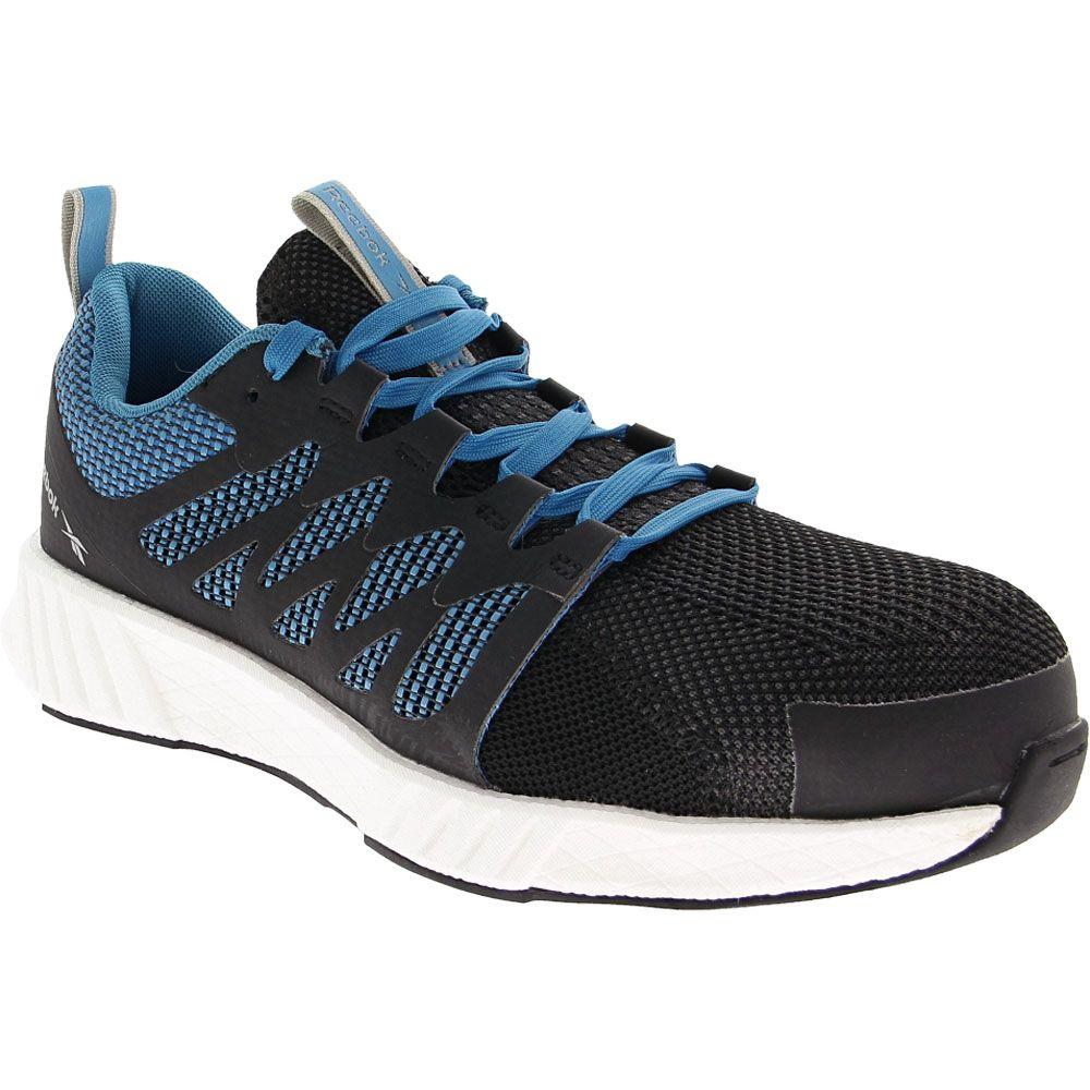 Reebok Work Fusion Flex Weave Composite Toe Shoes - Mens Blue