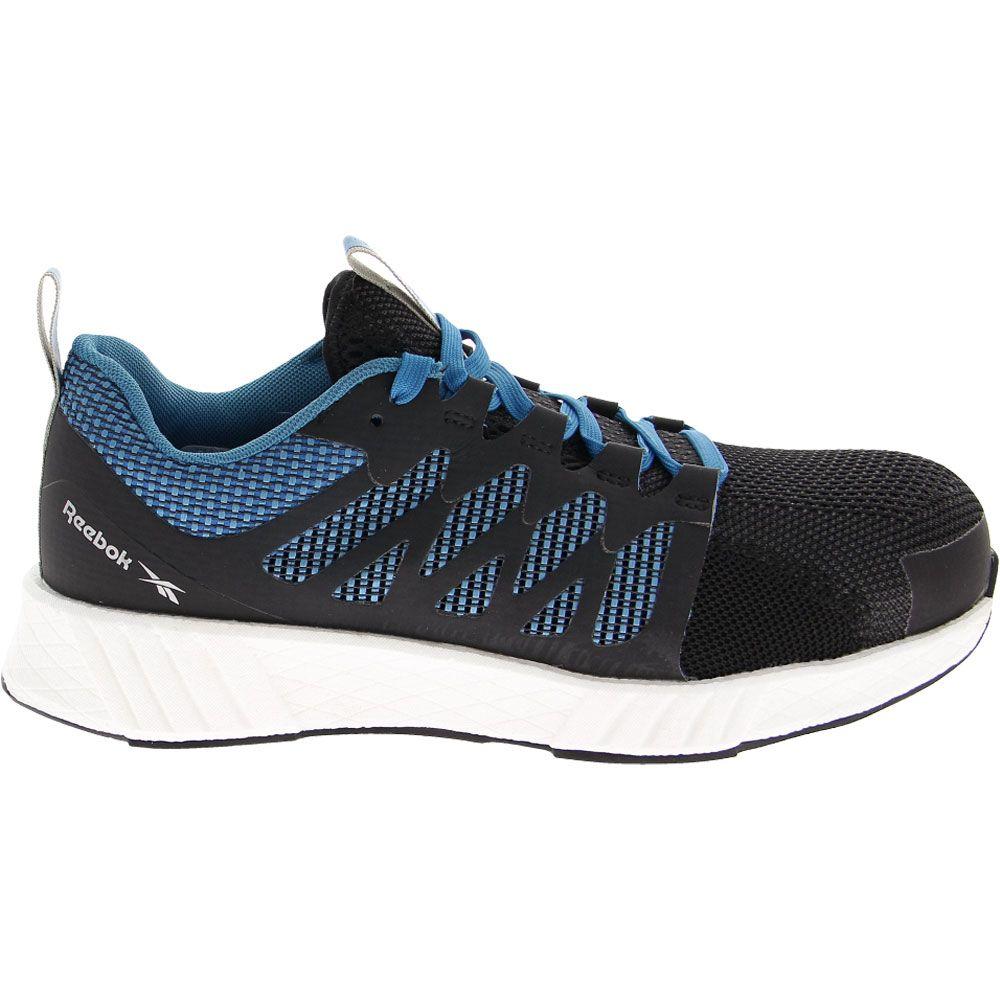'Reebok Work Fusion Flexweave Composite Toe Work Shoes - Mens Blue
