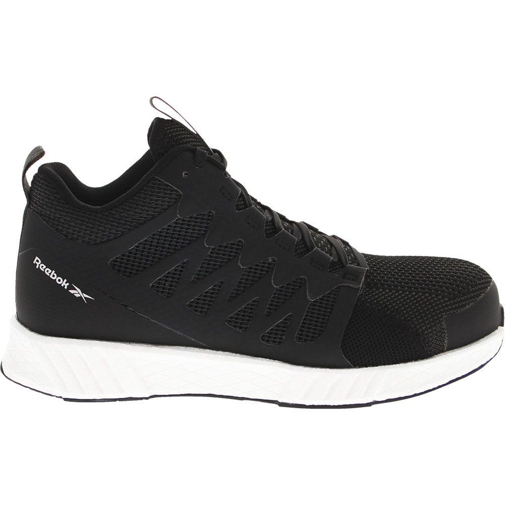 'Reebok Work Fusion Flexweave Mid Composite Toe Work Shoes - Mens Black