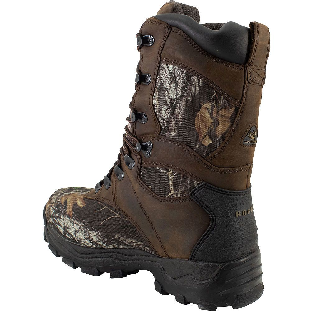 Rocky Sport Utility Max Insulated Hunting Boots - Mens Brown Camo Back View