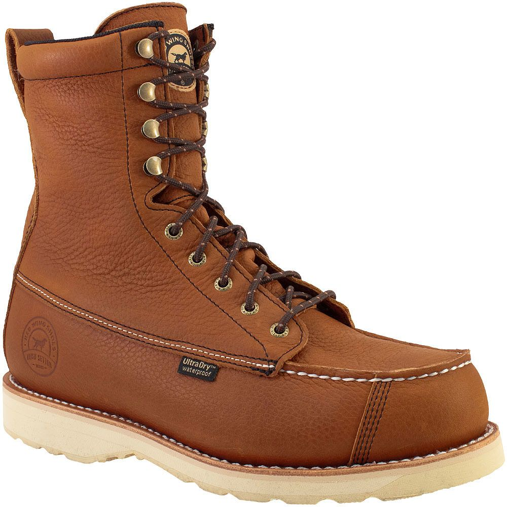 Irish Setter Wingshooter 894 Non-Safety Toe Work Boots - Mens Brown