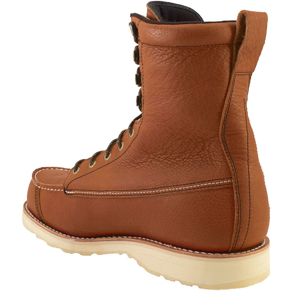 Irish Setter Wingshooter 894 Non-Safety Toe Work Boots - Mens Brown Back View