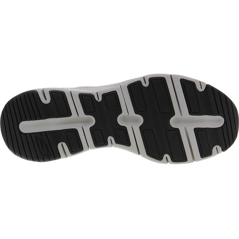 Skechers Arch Fit Paradyme Lifestyle Shoes - Mens Grey Sole View