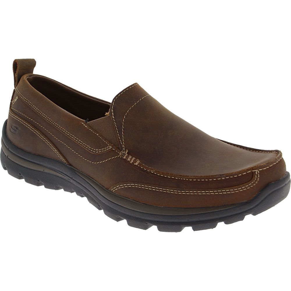 Skechers Superior - Gains Casual Shoes - Mens Dark Brown