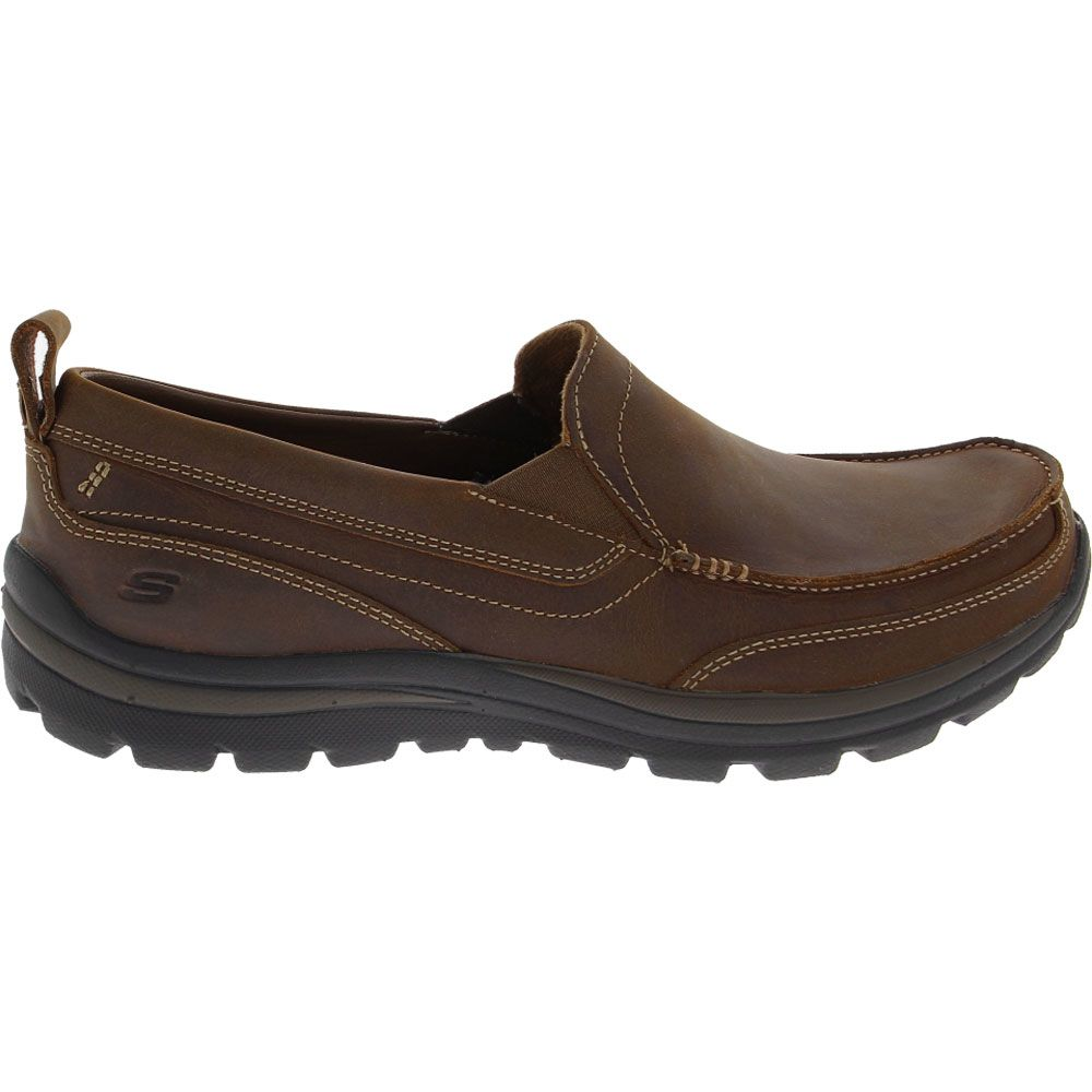 'Skechers Superior - Gains Casual Shoes - Mens Dark Brown