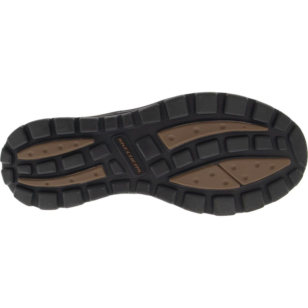 Skechers Superior - Gains Casual Shoes - Mens Dark Brown Sole View