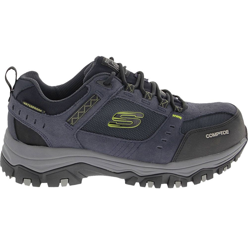 'Skechers Work 77183 Composite Toe Work Shoes - Mens Navy
