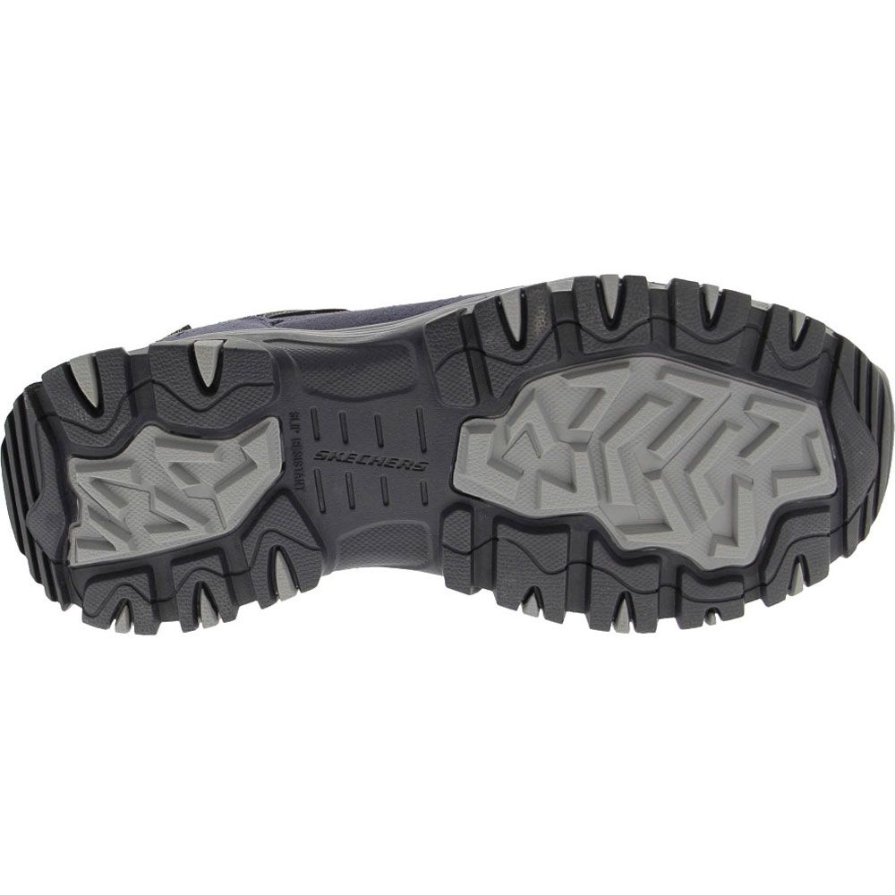 Skechers Work 77183 Composite Toe Work Shoes - Mens Navy Sole View