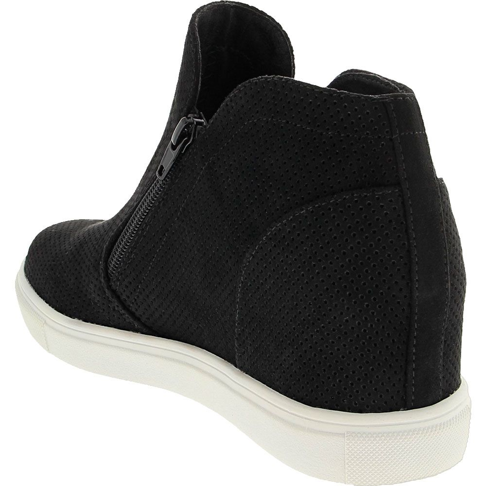 Madden Girl Penn Casual Boots - Womens Black Back View