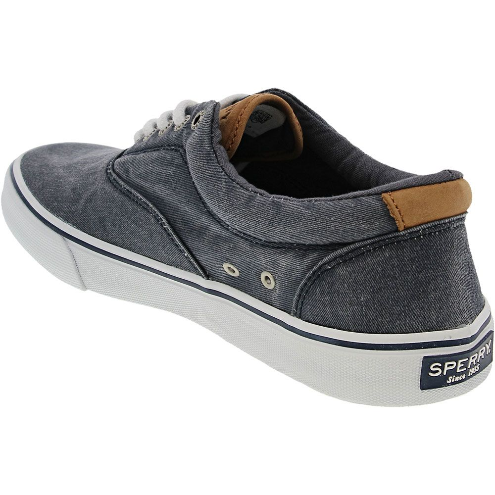 Sperry Striper 2 Cvo Lifestyle Shoes - Mens Navy Back View
