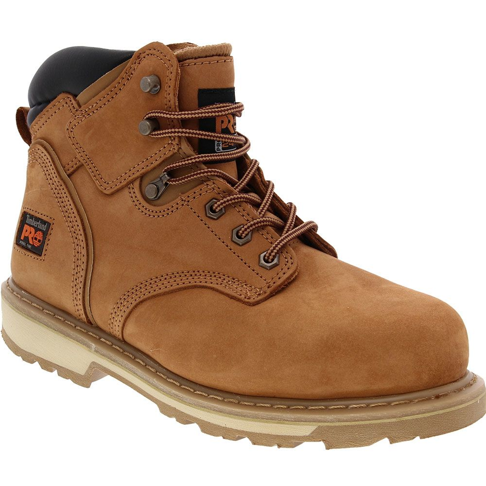Timberland PRO 33034 Steel Toe Work Boots - Mens Wheat