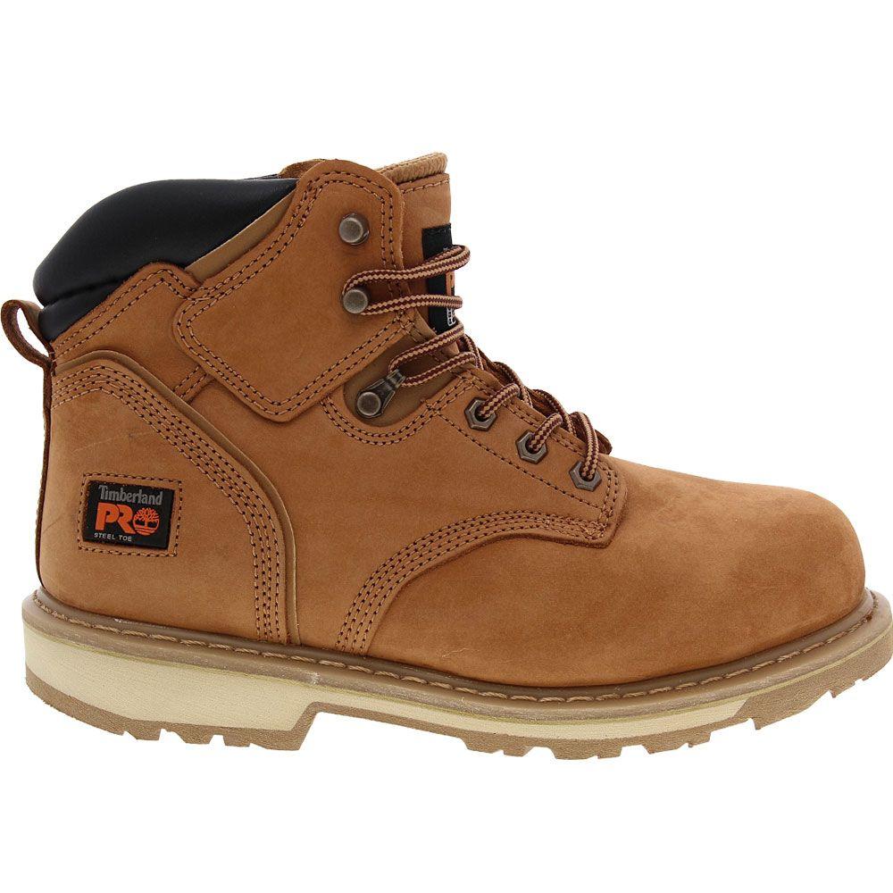 'Timberland PRO 33034 Steel Toe Work Boots - Mens Wheat