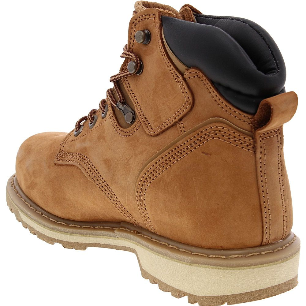 Timberland PRO 33034 Steel Toe Work Boots - Mens Wheat Back View