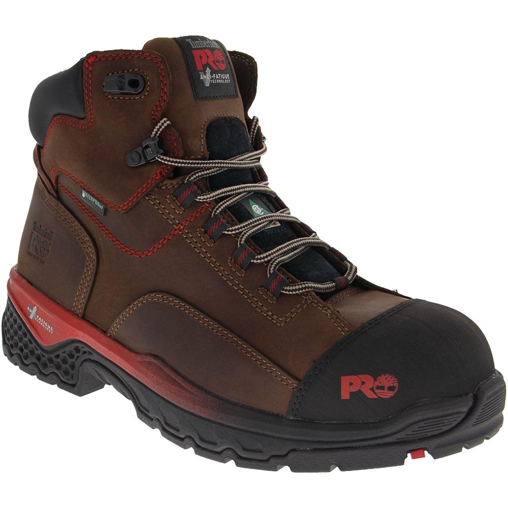 Timberland PRO Bosshog Composite Toe Work Boots - Mens Brown