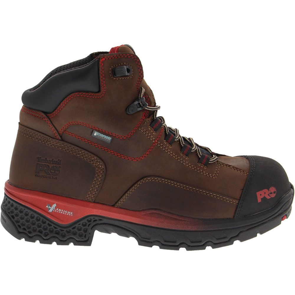 'Timberland PRO Bosshog Composite Toe Work Boots - Mens Brown