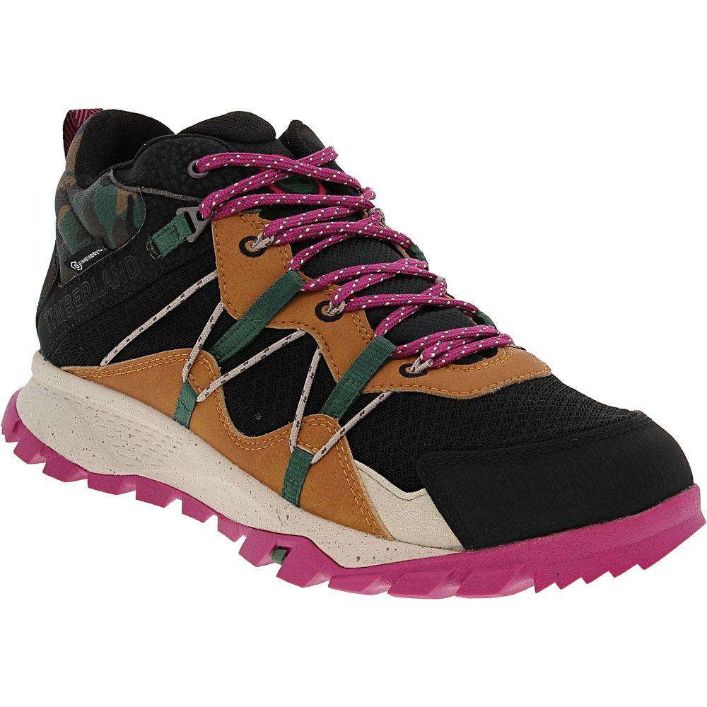 Timberland Garrison Trail Hiker Hiking Boots - Womens Black Purple