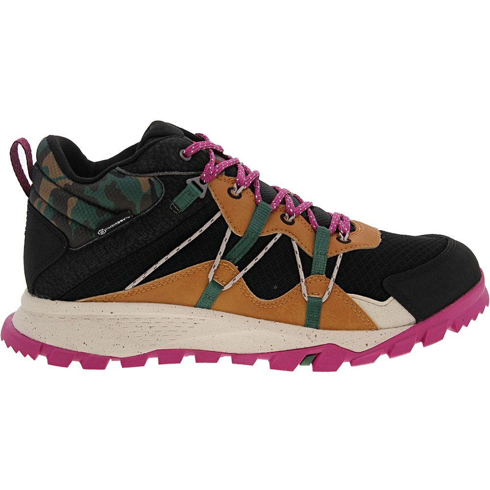 'Timberland Garrison Trail Hiker Hiking Boots - Womens Black Purple